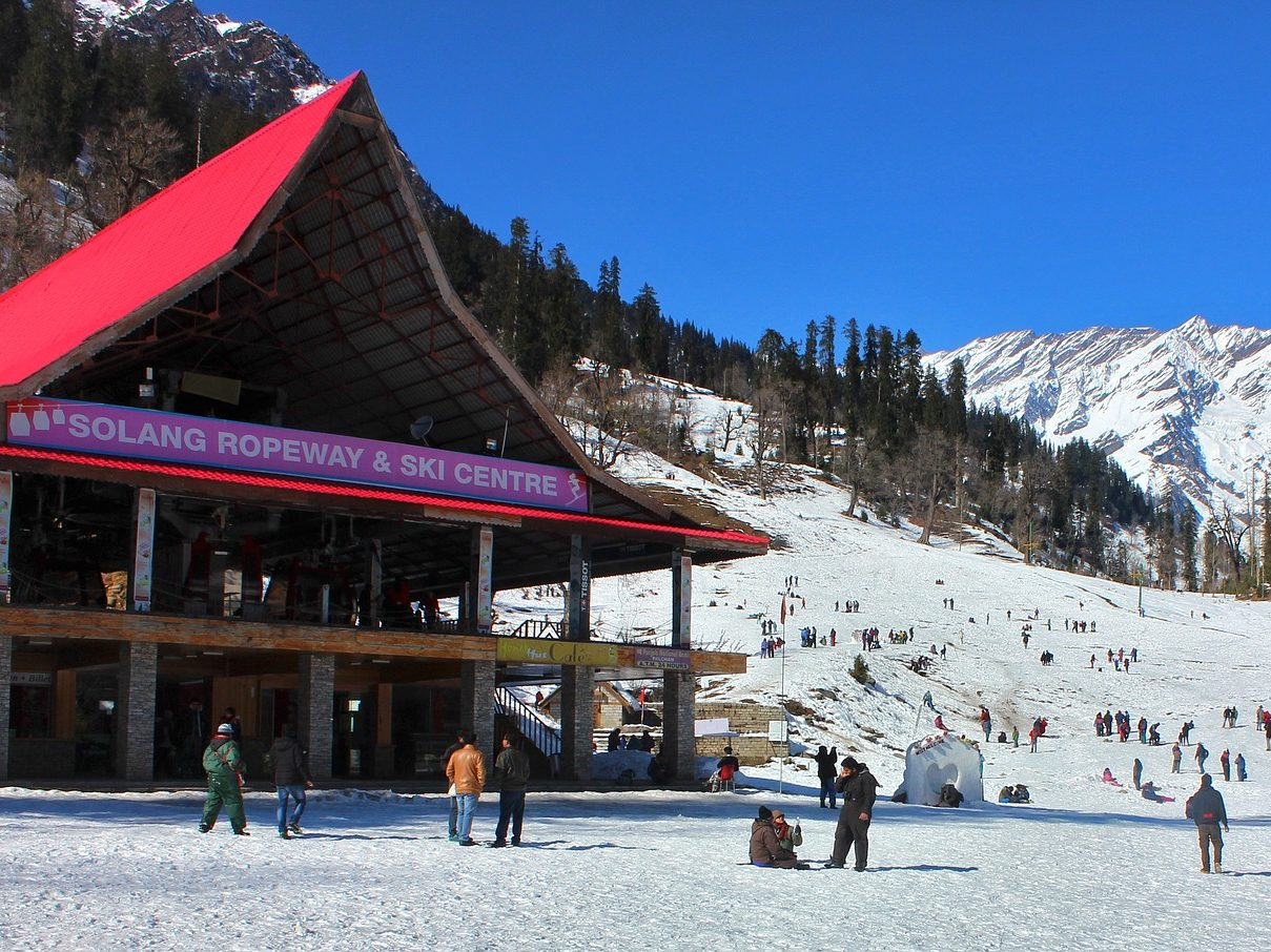 Alluring Manali By Volvo 3 Nights 4 Days Being Himalayan