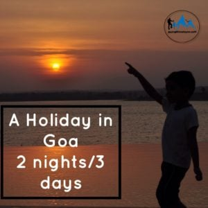 Goa holiday package 2 nights 3 days