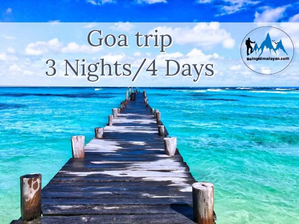 Goa package tour 3 nights 4 days